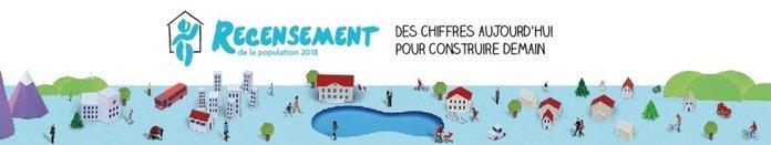 recensement Insee 2018