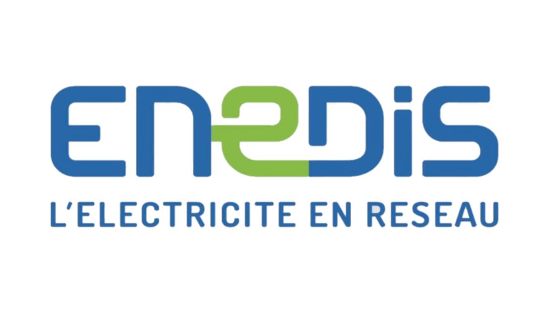 Logo ENEDIS électricité de réseaux