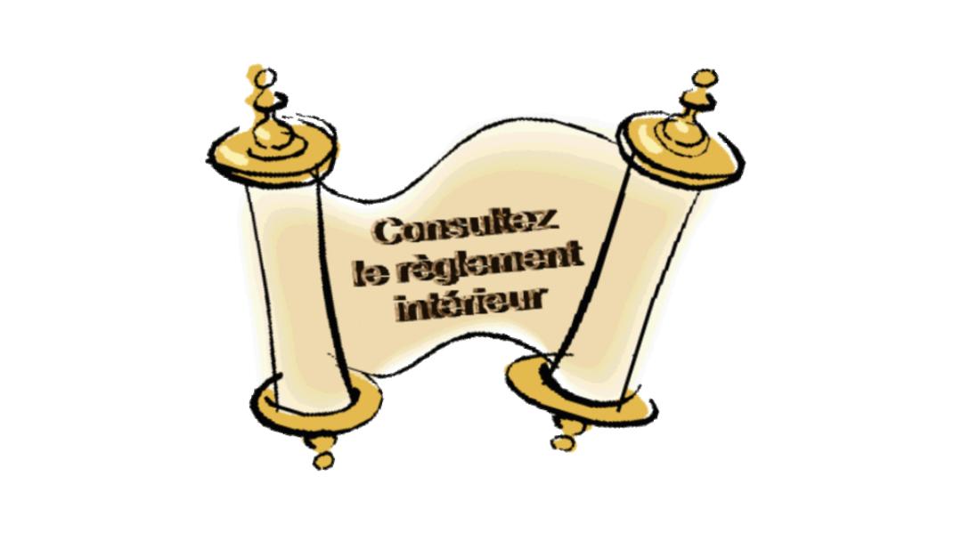 Règlement intérieur - Biars Sur Cère